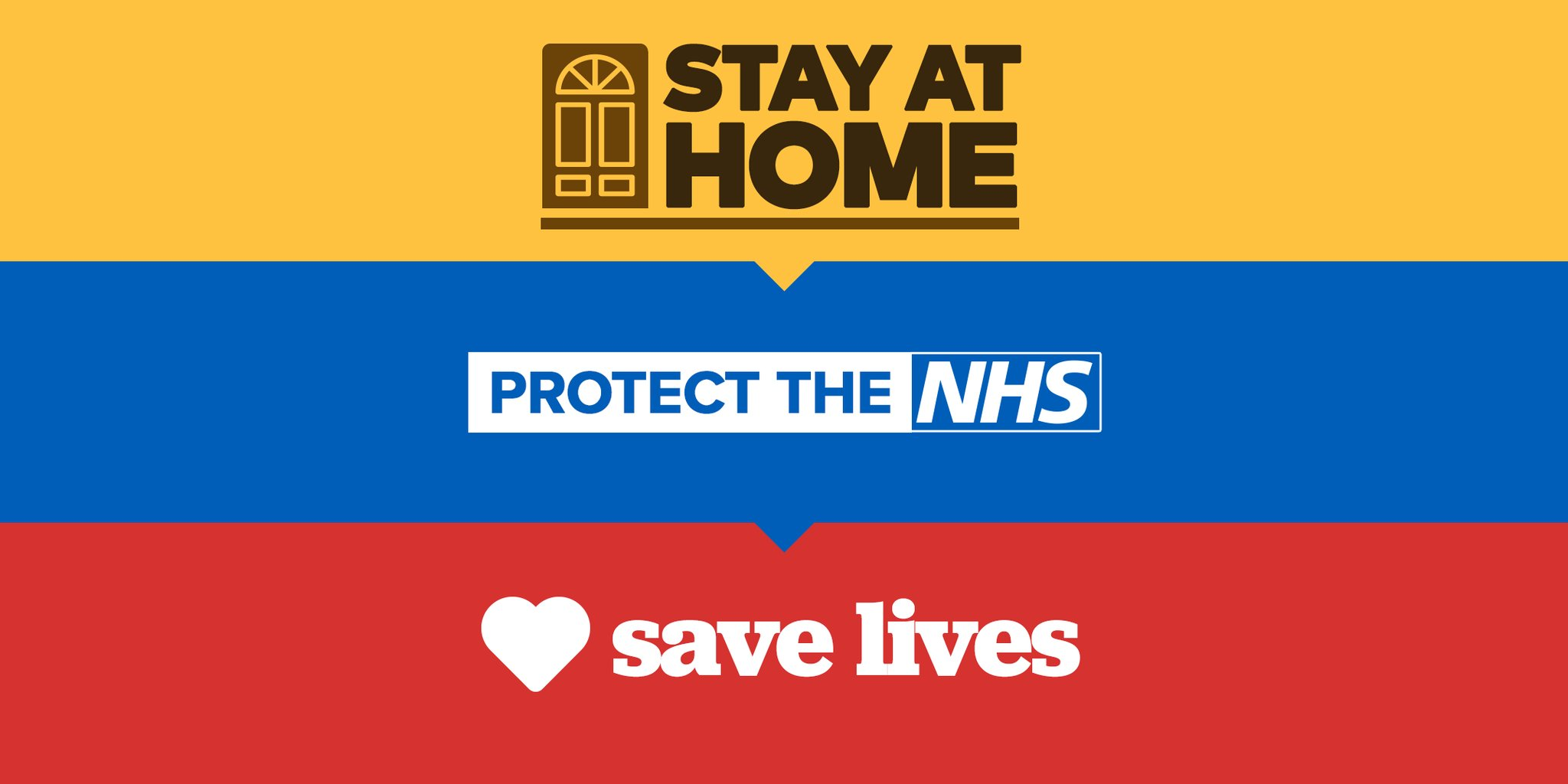 Stay home save lives protect the NHS